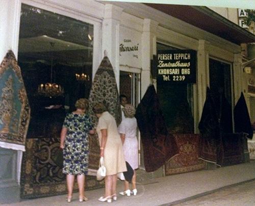 Khonsari Orient Teppich Import  Unsere Geschichte